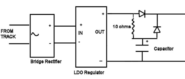 Schematic Of Lighting Circuit With Filtering Capacitor